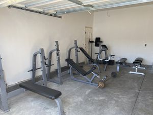 Precor home gym set up for Sale in Mount MADONNA, CA