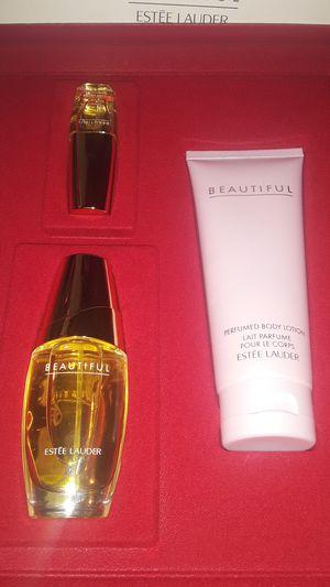 Set deperfume nuevo BEAUTIFUL de ESTEE LAUDER $40:] for Sale in El Monte, CA