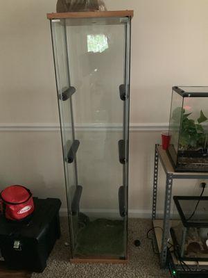 Glass reptile display tank for Sale in Conyers, GA