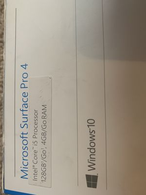 Microsoft Surface Pro 4 for Sale in Albuquerque, NM