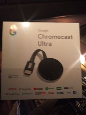 Googme chromecast ultra for Sale in Richmond, VA