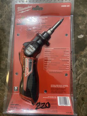 Milwaukee m12 soldering iron tool for Sale in Medley, FL