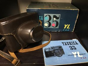 Yashica 35 YL F2.8 film Camera for Sale in West Collingswood Heights, NJ
