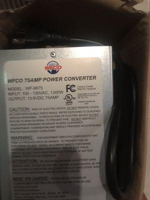 Brand new 75 amp power converter for RV for Sale in Sumerduck, VA
