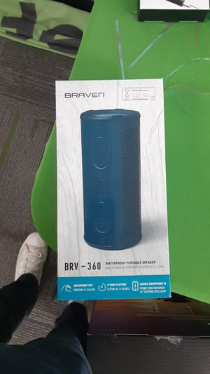 Braven BRV-360 waterproof bluetooth speaker for Sale in San Angelo, TX