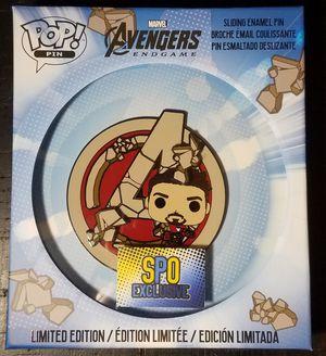 IN HAND POP PIN Marvel: Avengers Endgame Iron Man SPO Exclusive Ltd ed. 600 pcs for Sale in Ontario, CA