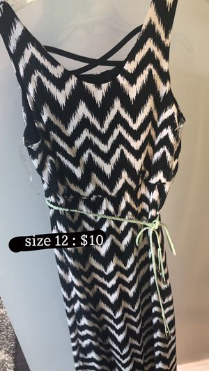 dress: size 12 in girls for Sale in Brunswick, OH
