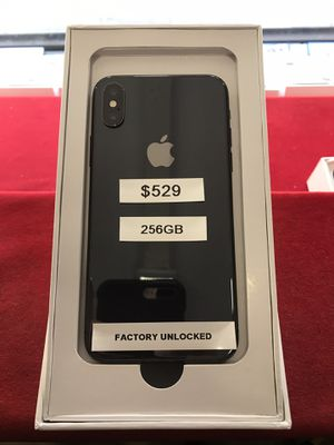 iPhone X 256gb Space Gray Factory Unlocked for Sale in The Bronx, NY