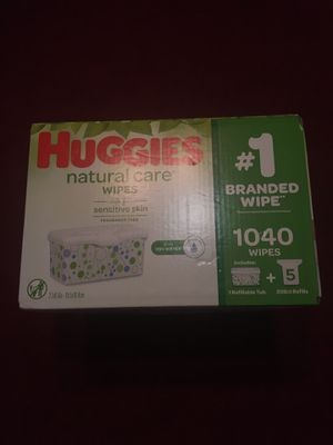 Huggies natural care baby wipes for Sale in Fort Worth, TX