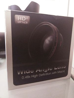 HD3 Wide Angle Lens Adapter (0.48x) for Sale in Gainesville, FL