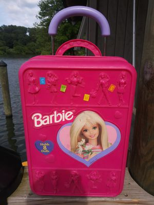 "Vintage Barbie Organizer trunk 20"" Tall for Sale in Gaithersburg, MD"