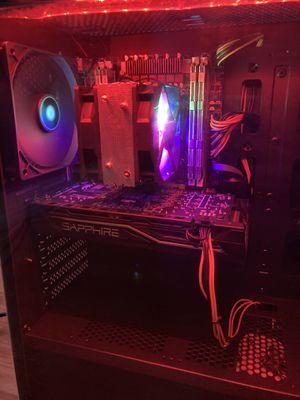 Intel Gaming Pc AMD GPU 16gb ram for Sale in Newark, CA