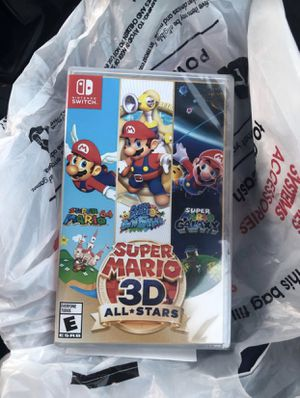 Super mario 3d all stars for Sale in Los Angeles, CA