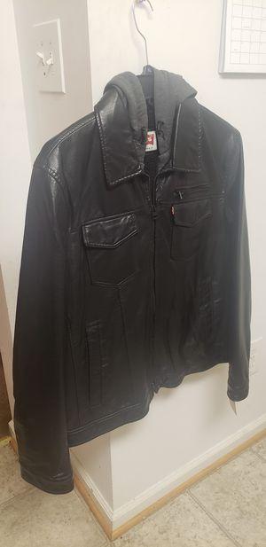 Leather Levi Jacket for Sale in Leesburg, VA