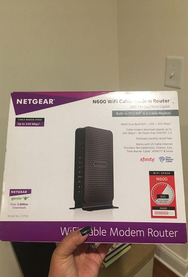 Modem router: Netgear