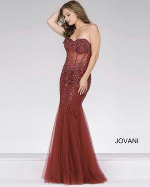 Jovani Burgundy Prom Dress for Sale in Spring Valley, CA
