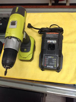 """Ryobi p271 1/2"""" 18v li-ion drill kit with battery &charger for Sale in Dearborn, MI"""