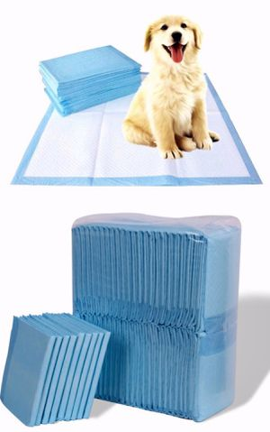 New in box 150pcs 30x30 inches pet wee pee piddle pad pet house training pads for Sale in Whittier, CA