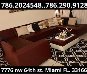 Shape sectional couch sofa for Sale in Medley, FL
