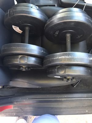 30 lb Dumbbell Weight Set for Sale in Severn, MD