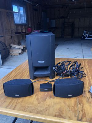 Bose CineMate Series II Home Theater System for Sale in Eastpointe, MI