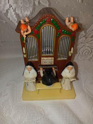 Vintage music box nuns playing Church organ hard plastic made in Hong Kong for Sale in Martinsburg, WV