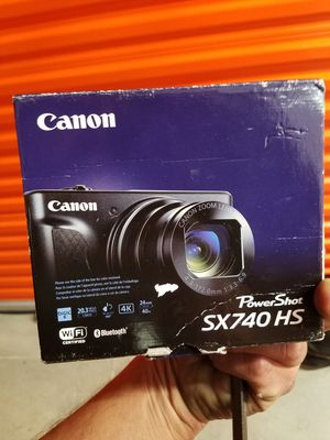 Camera canon for Sale in Sunnyvale, CA