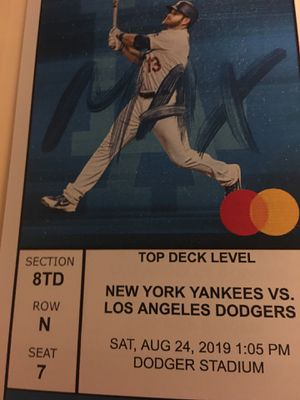 LA Dodgers vs. New York Yankees Baseball Tickets for Sale in Long Beach, CA