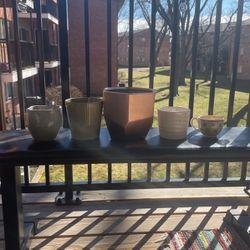 Assorted Potting Vessels for Sale in Leesburg,  VA