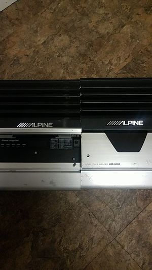 Polk audio Speakers DB6500 and Alpine amps $75 each for Sale in Philadelphia, PA