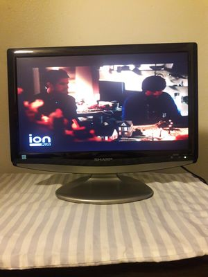 """Sharp 19 """"LC-19SB14U 720p LCD panorámico HDTV (negro) for Sale in Clearwater, FL"""