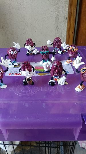 California Raisin figurines for Sale in Riverside, CA