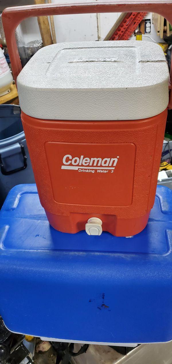 Coleman 5 Gallon Water Jug Drink Beverage Cooler