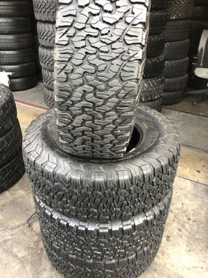 35/12.50R17 BFGoodRich ko2 tires (4 for $500) for Sale in Carson, CA