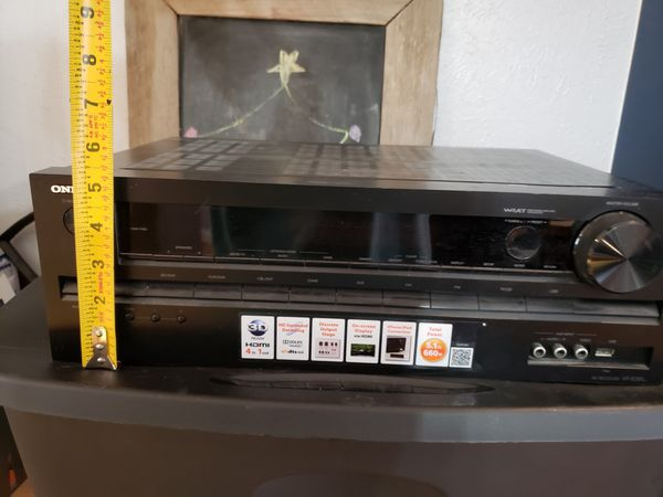 Onkyo receiver with Klipsch speakers