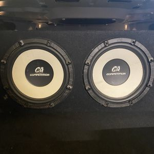 12 Inch Subwoofer Box for Sale in Claremont, CA