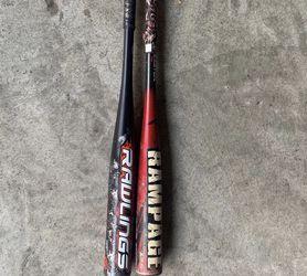 Baseball Bats Size 29 &30 for Sale in Chula Vista,  CA