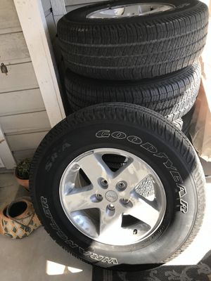 Jeep Wrangler JK wheels and tires for Sale in San Antonio, TX