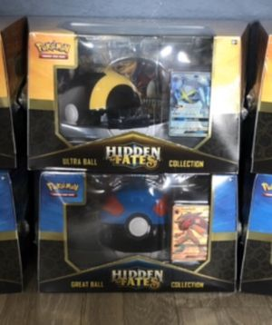Pokemon - HIDDEN FATES - Great Ball / Ultra Ball Collection (FACTORY SEALED / UNOPENED) for Sale in Clermont, FL