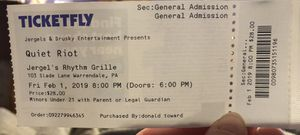 Quiet Riot tickets for Sale in Canonsburg, PA
