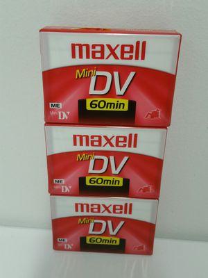 Maxell Mini Digital Video Cassette Recording Tape for Sale in US