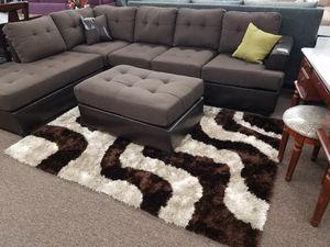 3 PC sectional with ottoman 🎈🎈 for Sale in Fresno, CA