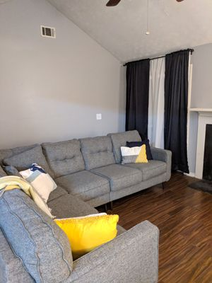 Space Gray Couch for Sale in Snellville, GA