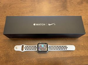 Apple Watch Series 4, Nike +, 44mm, GPS, Aluminum for Sale in San Diego, CA