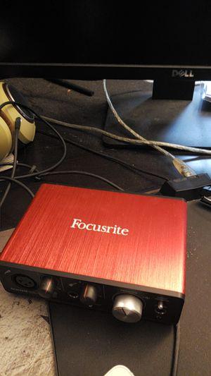 Focusrite scarlett solo for Sale in Fairfax, VA