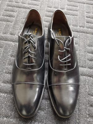 To Boot New York Hudson Men's Black formal Cap toe shoes Oxford's for Sale in Kent, WA