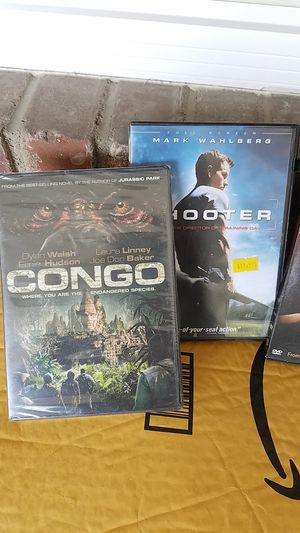 DVD'S. CONGO NEVER OPENED. All for $10 for Sale in Upland, CA