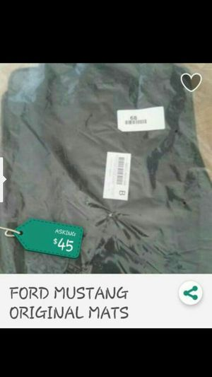FORD MUSTANG ORIGINAL FLOOR MATS, CARPETS for Sale in Potomac, MD
