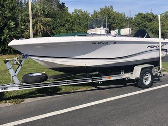 2001 17 Ft Proline Boat for Sale in Cape Coral,  FL