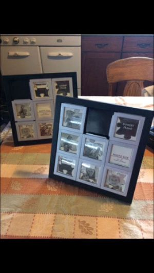 Two Puzzle Photo Frames for Sale in West Hazleton, PA